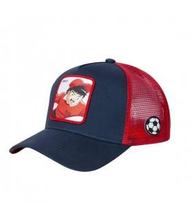 Men's Capslab Captain Tsubasa Genzo Blue Cap