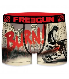 Boxer homme black road freegun