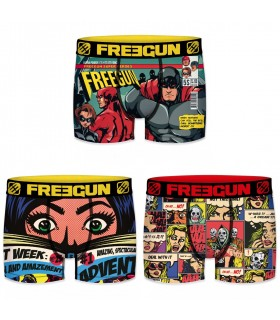Lot de 3 boxers homme Comic