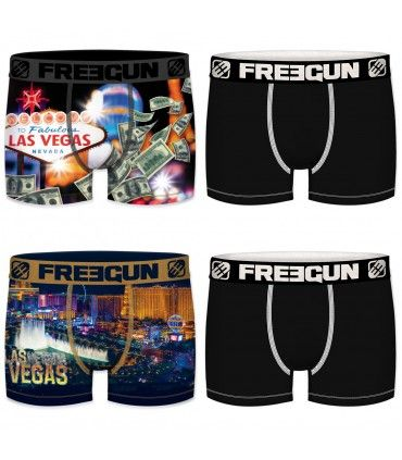 Pack of 4 men's Las Vegas Boxers