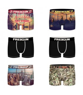 Pack of 6 boy's Las Vegas Boxers
