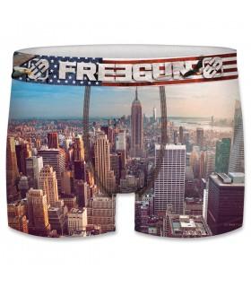 Boxer garçon motifs tower freegun