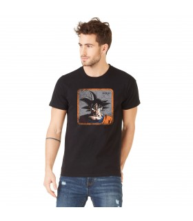 T-Shirt homme Dragon Ball Z Goku Noir