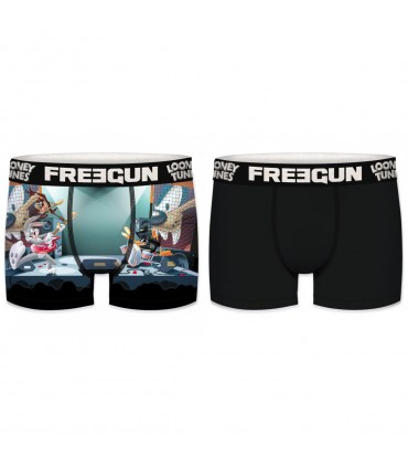 Pack of 2 boy's Looney Tunes Rock & Roll Boxers