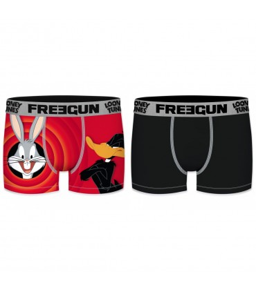 Pack of 2 boy's Looney Tunes Bunny and Daffy Boxers