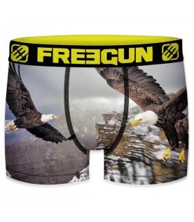 Boxer Freegun homme polyester recyclé Aigle