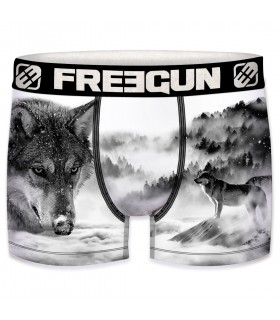 Boxer homme Loup
