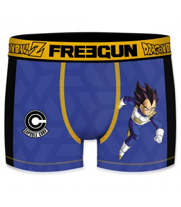 Men's Aktiv Sport Dragon Ball Z Vegeta Blue Boxer