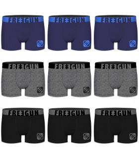 Pack de 8 Boxers homme microfibre Freegun E4