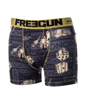 Boxer Freegun garçon Man Monopoly