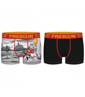 Lot de 2 Boxers garçon Looney Tunes Basket Ball