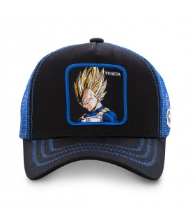 Boy's Capslab Dragon Ball Z Vegeta Saiyan Junior Trucker Cap