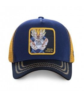 Casquette Junior Capslab Dragon Ball Z Mâjin Vegeta vue de face