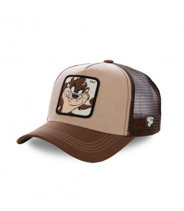 Taz Looney Tunes Junior Brown Cap with mesh
