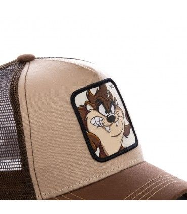 Boy's Capslab Looney Tunes Taz Junior Trucker Cap