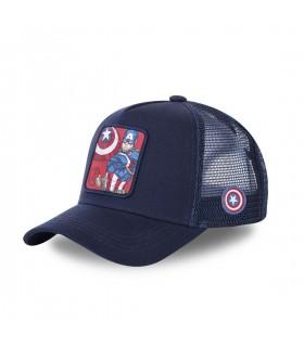 Boy's Capslab Marvel Captain America Junior Cap