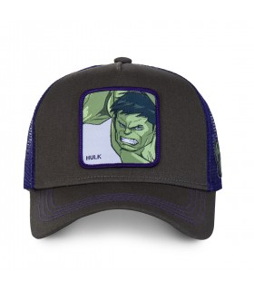 Casquette Junior Capslab Marvel Hulk vue de face