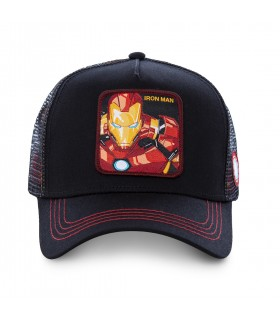 Casquette Junior Capslab Marvel Iron Man vue de face