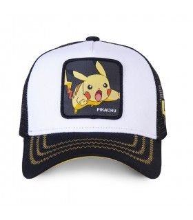 Casquette Junior Capslab Pokemon Pikachu vue de face