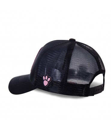 Pink Panther Junior Black Cap with mesh