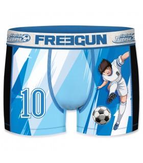 Boy's Aktiv Captain Tsubasa Blue Boxers