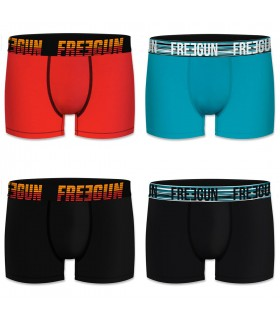 Lot de 4 boxers coton homme Freegun