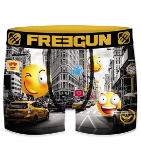Lot de 4 Boxers Freegun garçon Emotik