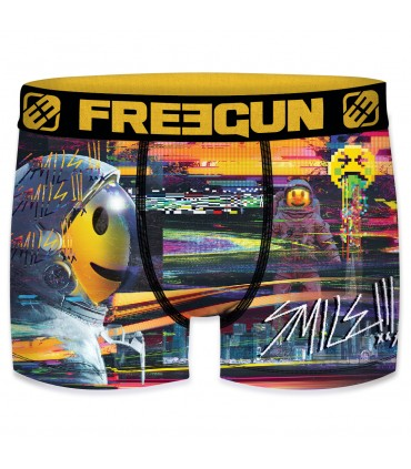 Pack of 4 boy's Smile microfiber Boxers