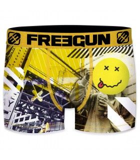 Men's Can Grafiti Smiley Boxer