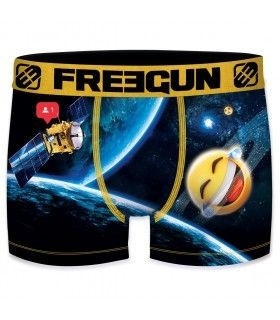 Men's Space Smiley Boxer