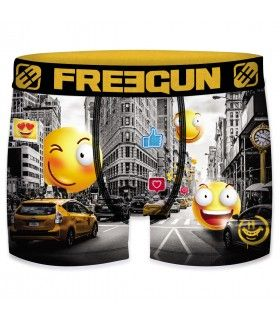 Boxer Freegun garçon Emotik City