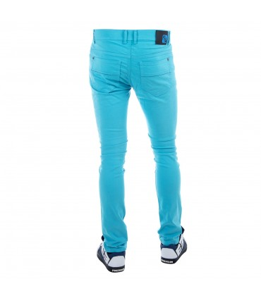 Jeans Homme Skinny Turquoise