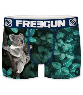 Boxer Freegun polyester recyclé homme Koala