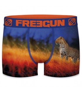 Boxer Freegun polyester recyclé homme Panther