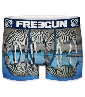 Men's Zebra recycled polyester Boxer