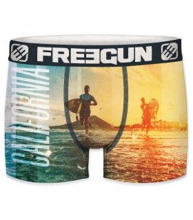 Boxer microfibre homme california freeugun