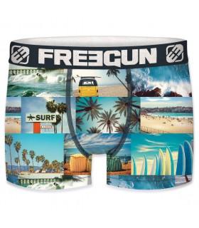 Boxer microfibre homme Premium Freegun Life Coast