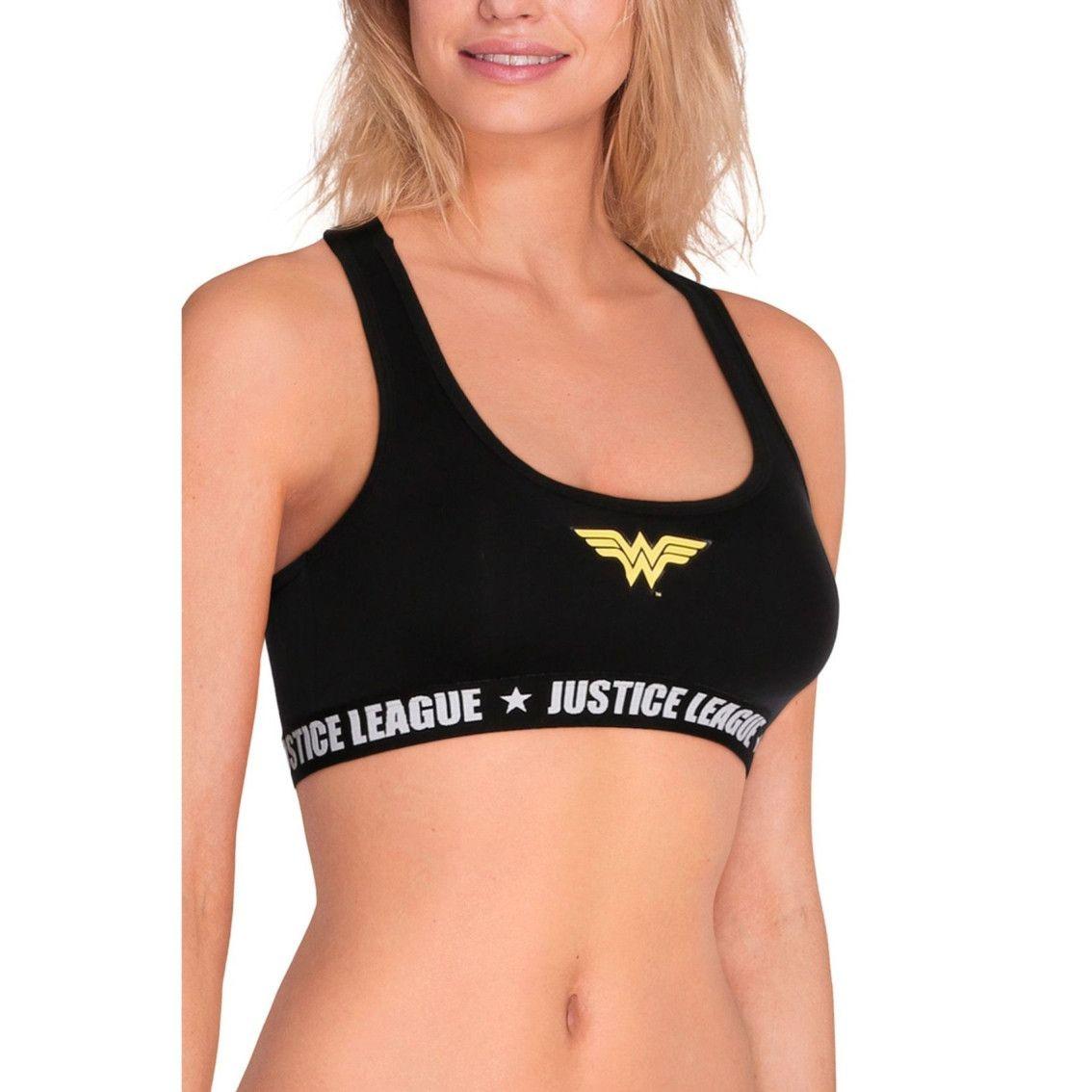 Brassière fille justice league wonderwoman (photo)