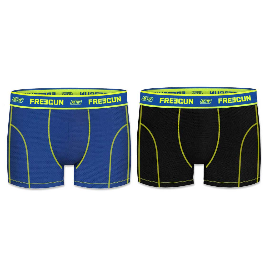 Lot de 2 boxers homme aktiv colors (photo)