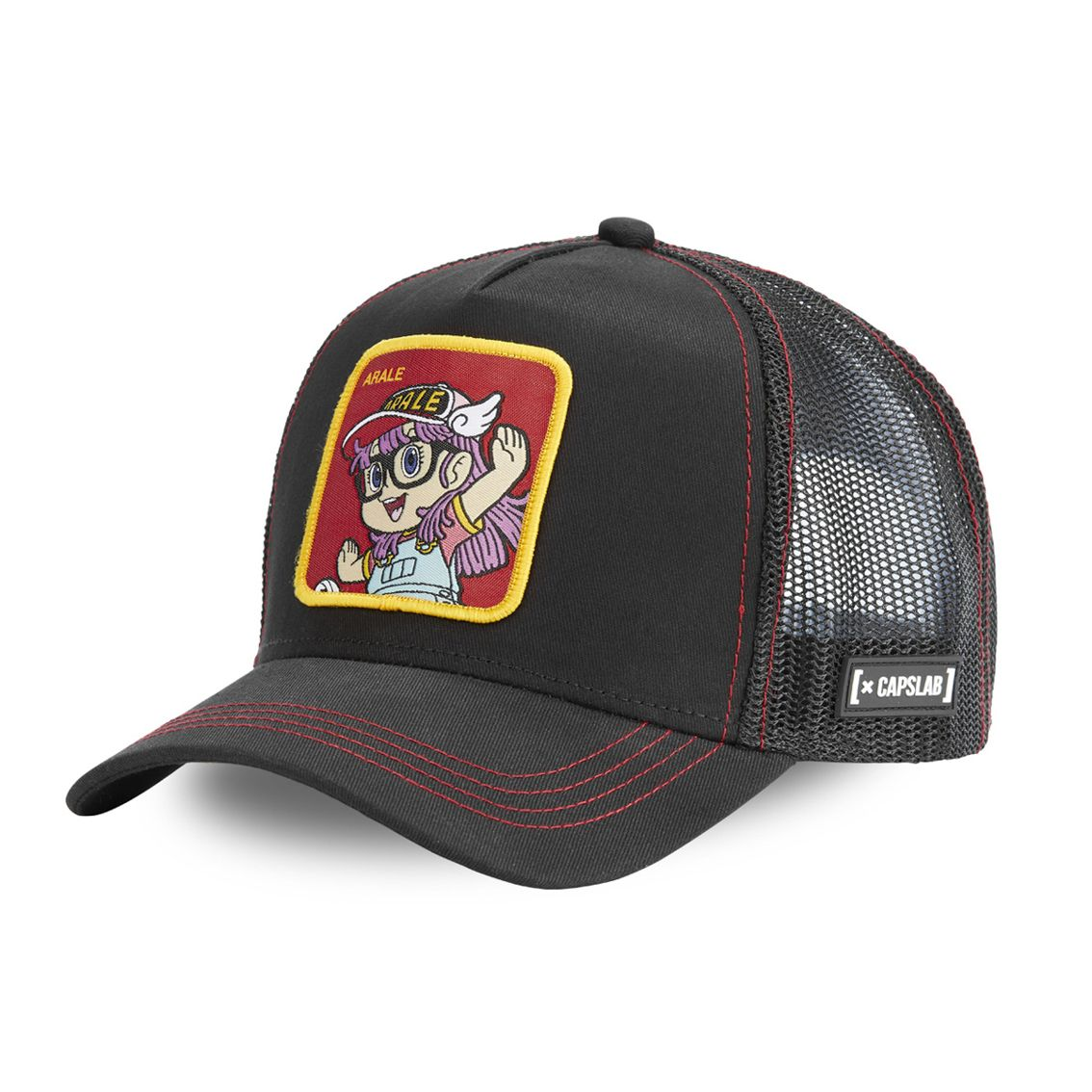 Casquette capslab dr slump arale noir (photo)
