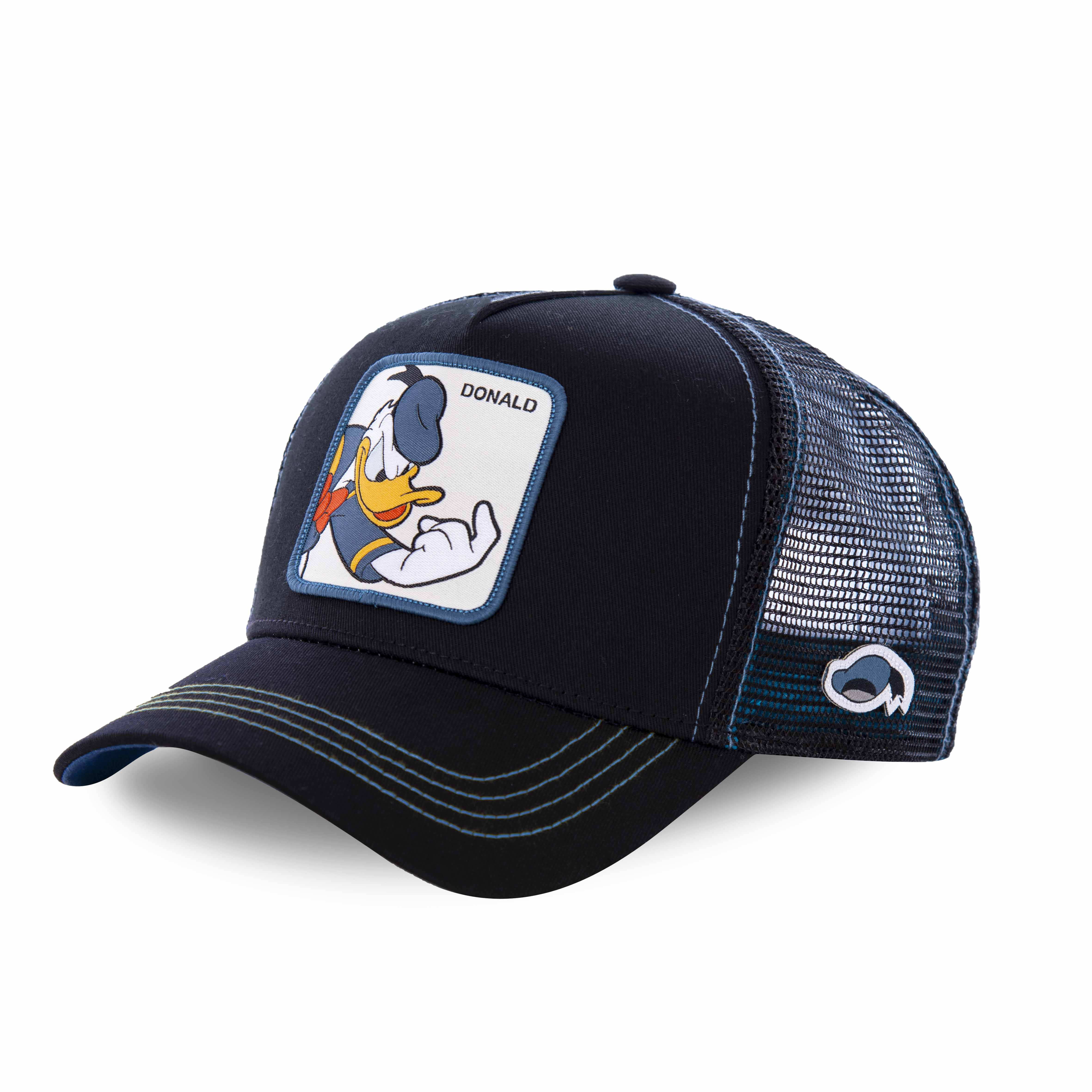 Casquette capslab disney donald noir (photo)
