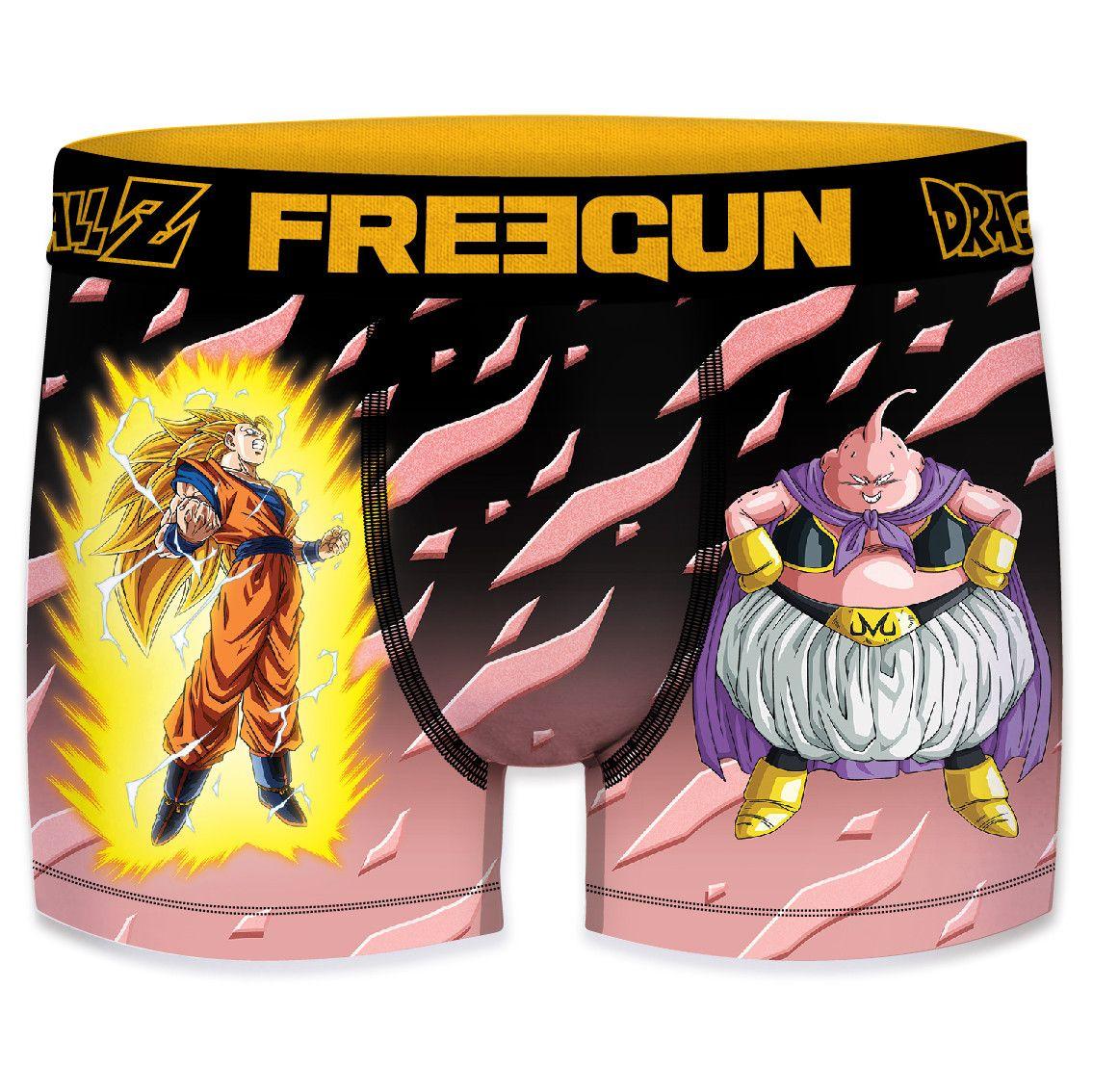 Boxer freegun homme dragon ball z pin (photo)