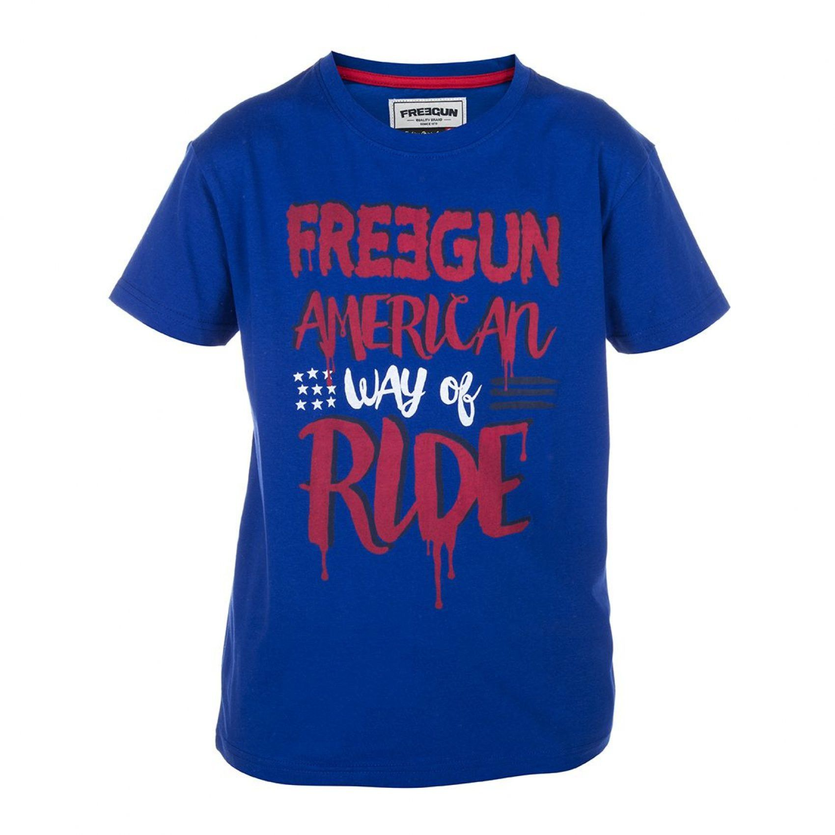 T-shirt garçon freegun ride (photo)