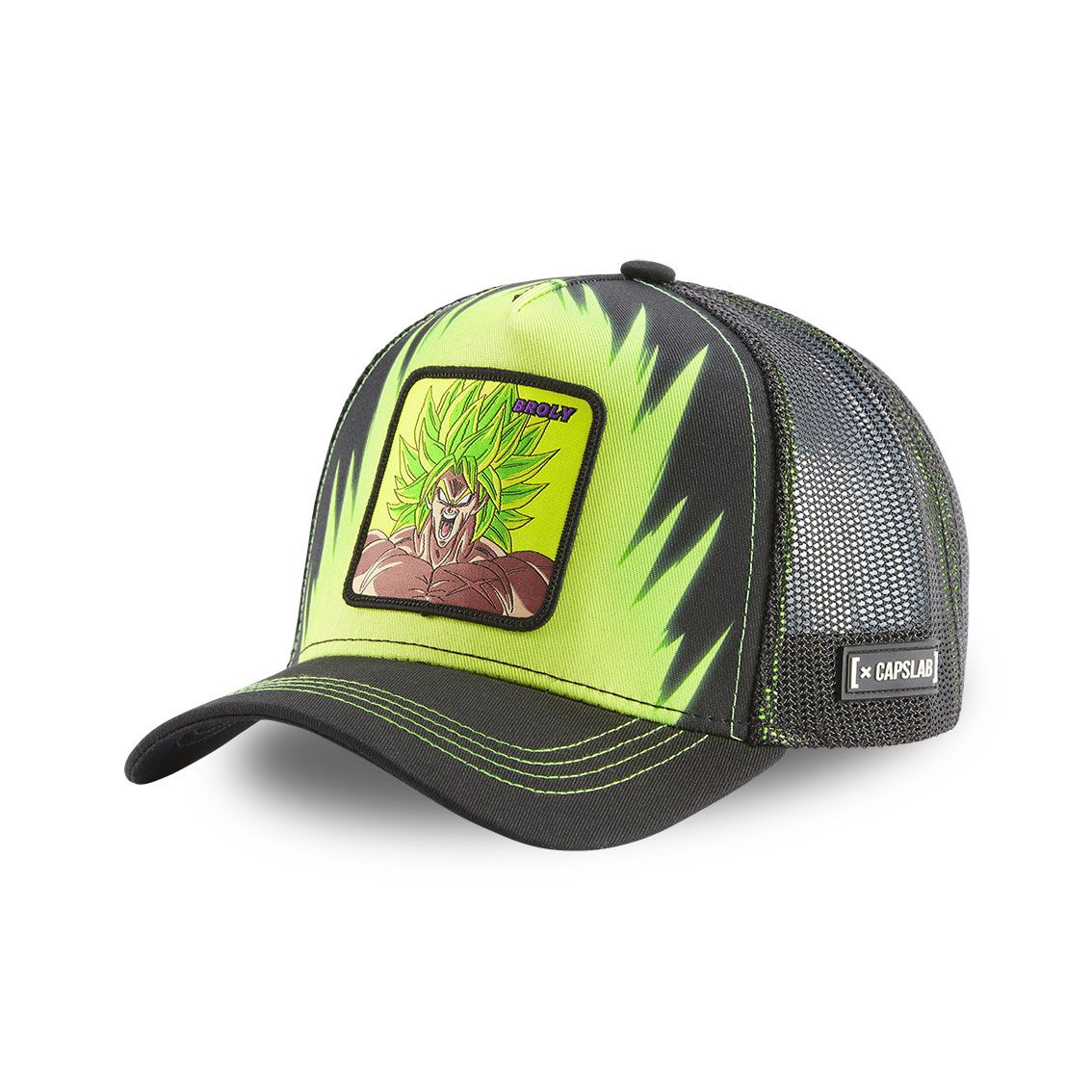 Casquette capslab dragon ball broly  vert (photo)