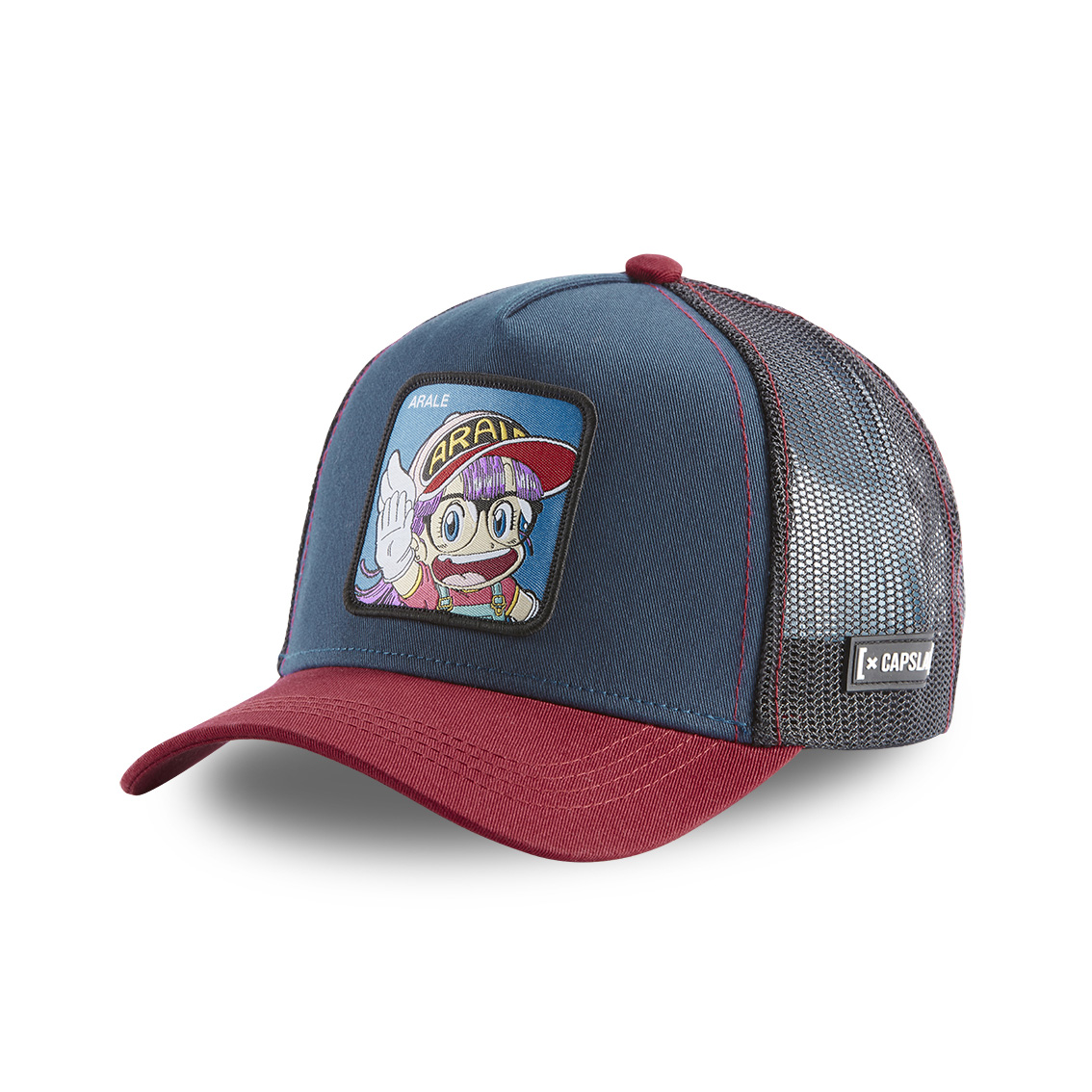 Casquette capslab dr slump arale bleu (photo)