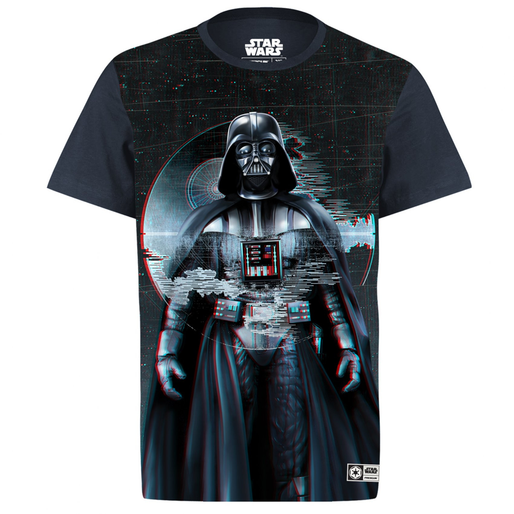 T-shirt homme star wars dark vador 3d (photo)