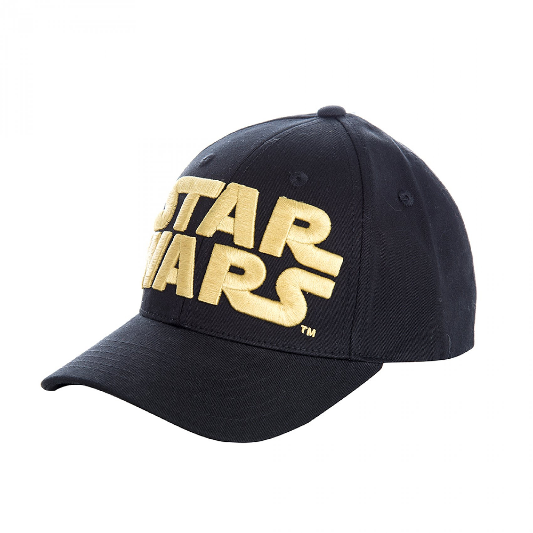 Casquette baseball snapback homme broderie or star (photo)