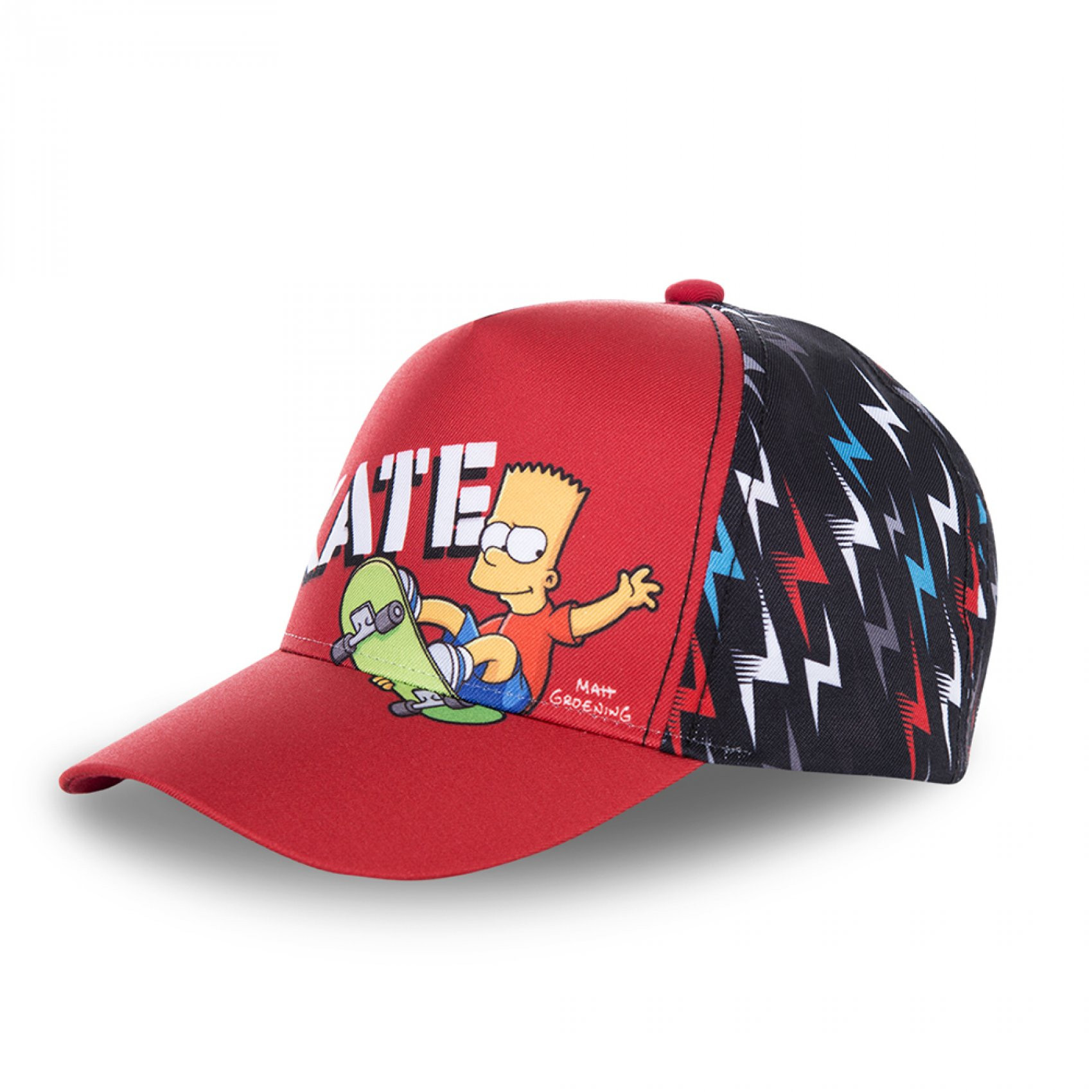 Casquette baseball garçon skate simpsons (photo)