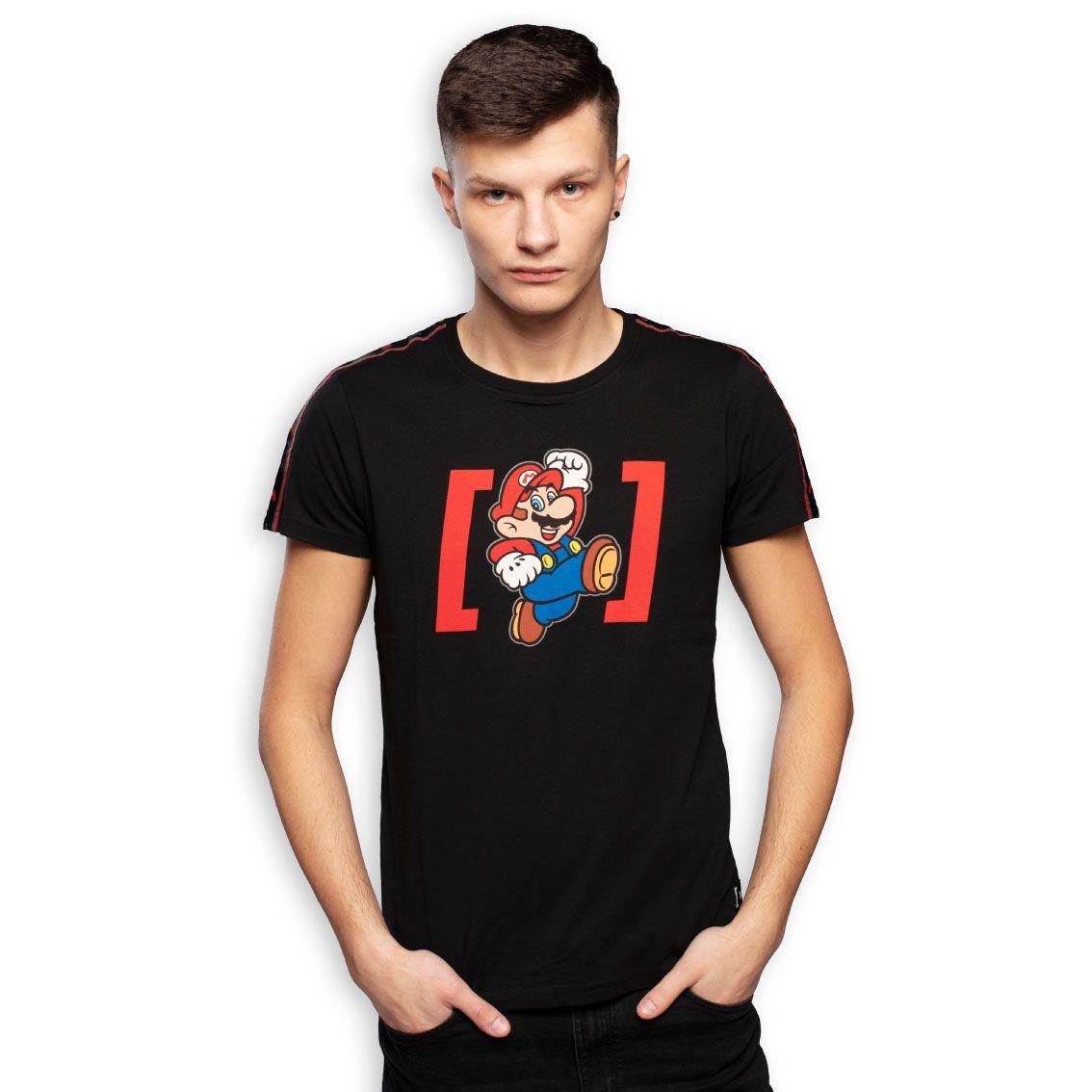 T-shirt homme super mario (photo)
