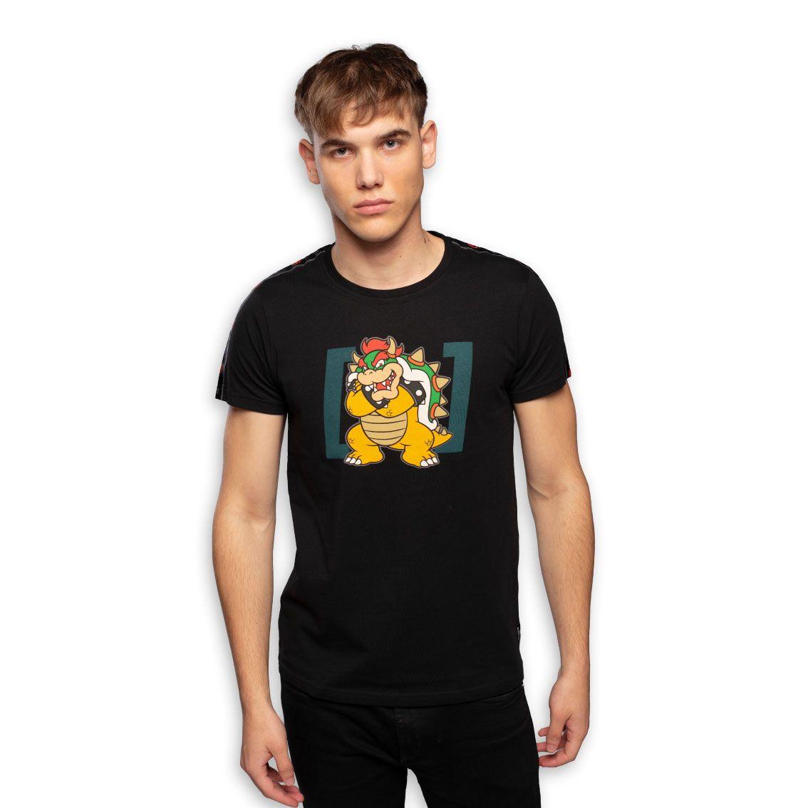T-shirt homme super mario bowser (photo)